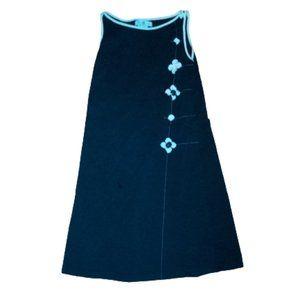 Deux par deux Black Jersey dress Girl Size 16